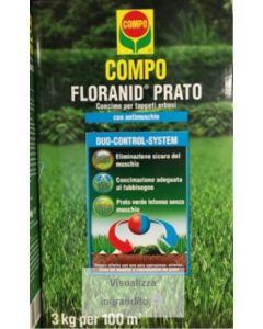COMPO - CONCIME FLORANID PRATO + ANTIMUSCHIO 3 KG