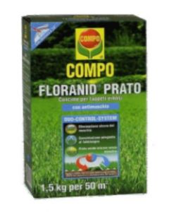 COMPO - CONCIME FLORANID PRATO + ANTIMUSCHIO 1,5 KG