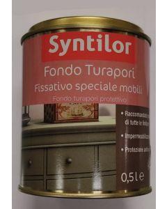 SYNTILOR - FONDO TURAPORI 0,5lt - FISSATIVO SPECIALE MOBILI