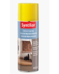 SYNTILOR - CERA IN SPRAY PROTETTIVA 400ml - MANTENIMENTO LEGNO