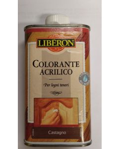 LIBERON - COLORANTE ACRILICO 250 ML CASTAGNO
