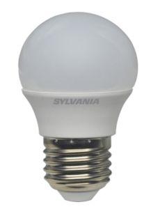 "SYLVANIA - LAMPADINA ""TOLEDO"" SFERA SATINATA E27 5,5W 827 470LM"