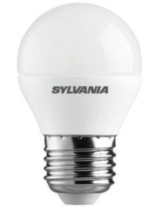 """SYLVANIA - LAMPADINA """"TOLEDO"""" SFERA SATINATA GHIACCIO - E27 3,2W 250LM 220V 2700K A+"""