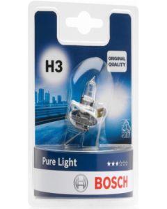 BOSCH - LAMPADINA PER AUTO PURE LIGHT H3 12 55W