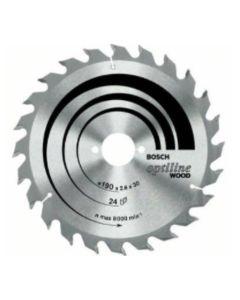BOSCH - LAME OPTILINE WOOD PER SEGHE CIRCOLARI D.130 X2,4X20/16MM