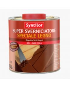 SYNTILOR - SUPER SVERNICIATORE SPECIALE LEGNO 0.5lt - GEL