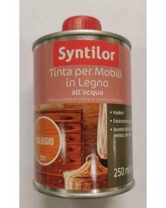 SYNTILOR - TINTA PER LEGNO ALL'ACQUA - PER CILIEGIO 250ml