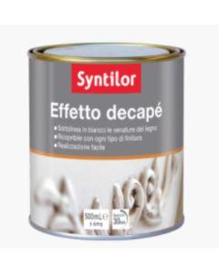 SYNTILOR - FINITURA PER LEGNO - EFFETTO DECAPE' BIANCO