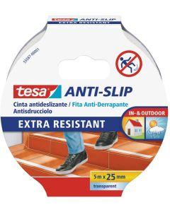 TESA - NASTRO ADESIVO ANTISDRUCCIOLO 25mm x 5mt - COLORE TRASPARENTE