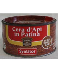 SYNTILOR - CREMA IN PATINA ALLA CERA D'API 0,5 L CILIEGIO SELVATICO SCURO