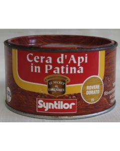 SYNTILOR - CREMA IN PATINA ALLA CERA D'API 0,5 L ROVERE DORATO