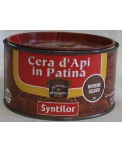 SYNTILOR - CREMA IN PATINA ALLA CERA D'API 0,5 L ROVERE SCURO
