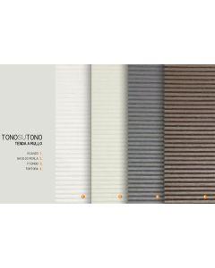 TENDA A RULLO TONO SU TONO TORTORA 80x175 CONCEPT DECOR