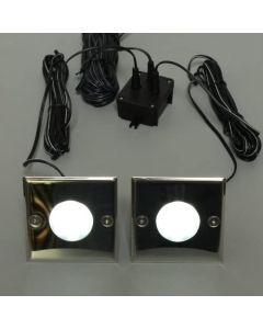 BRILLIANT - LAMPADA PER ESTERNO MODELLO COBALT LED 2X9