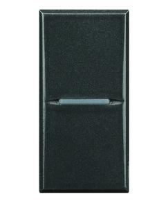 BTICINO AXOLUTE - INTERRUTTORE 1P 16AX 250Vac ASSIALE COLORE ANTRACITE ART. HS4004
