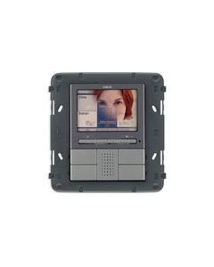 Vimar - Monitor a colori Next Serie Eikon colore grigio 20550.N