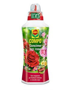 COMPO - CONCIME PER ROSE 1 LT CON MAGNESIO PER FIORITURE INTENSE