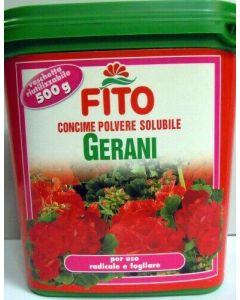 FITO - Concime in polvere solubile per gerani 500G