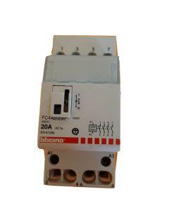 BTICINO - CONTATTORE 20A 230Vac 2 MODULI FC4A2/230