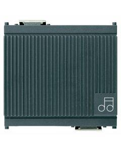 Vimar - Suoneria elettronica 3 sequenze 12V Serie Idea colore grigio 16420