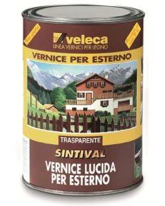 VELECA - SINTIVAL  VERNICE LUCIDA PER LEGNO COLORE DOUGLAS1 LT