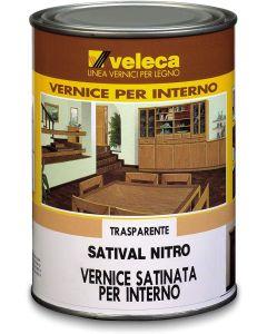 VELECA - SATIVAL NITRO SATINATA TRASPARENTE 1 LT