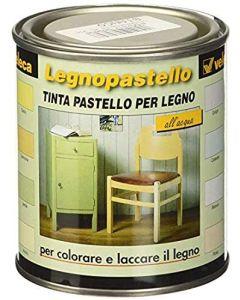 VELECA - LEGNOPASTELLO TINTA PASTELLO PER LEGNO CELESTE 250 ML