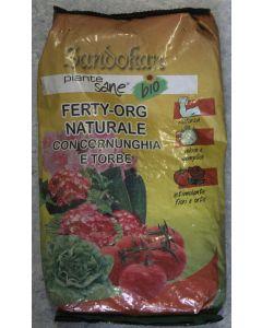 SANDOKAN - FERTYORG NATURALE CON CORNUNGHIA E TORBE 1kg