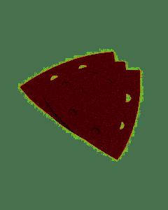 PG - 5 FOGLI ABRASIVI VELCRO FORATI 93 GR 240