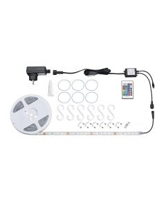 BRILONER - STRISCIA LED ESTERNO 3 METRI DIMMERABILE CON TELECOMANDO 90LED 14,4W