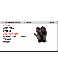 ORECA - GUANTI TECNICI MICROFIBRA/SPANDEX  CAT 1 TAGLIA 10