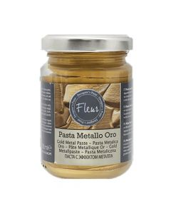 FLEUR DESIGNER'S PAINT PASTA METALLO ORO IN RILIEVO 130ML