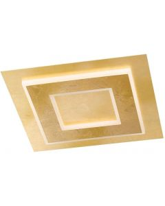 WOFI - GRANADA APPLIQUE QUADRA 45X45 LED ORO 20W