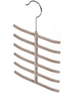DOMOPAK - SET 2 GRUCCE APPENDI CRAVATTE, ANTISCIVOLO - 16cm BEIGE
