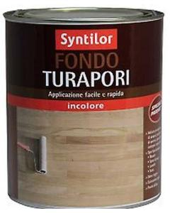 SYNTILOR - FONDO TURAPORI SPECIALE PARQUET INCOLORE 0,5 LT