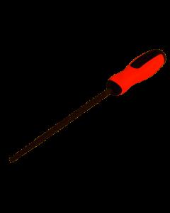 SUKI - LIMA PER METALLO TONDA H1 DA 200 MM CON IMPUGNATURA BICOMPONENTE 1801197