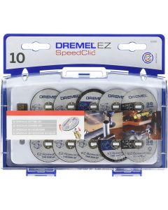 DREMEL - EZ SPEEDCLIC SET 10 DISCHI DA TAGLIO ART. SC690