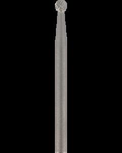 DREMEL - FRESA AL CARBURO DI TUNGSTENO PUNTA SFERICA 3,2 MM ART. 9905