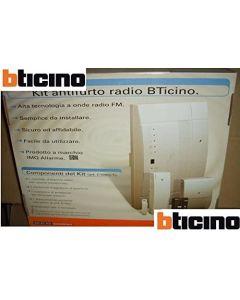 BTICINO - KIT ANTIFURTO RADIO C100G/1 CENTRALE SICUREZZA ANTINTRUSIONE CASA SICURA