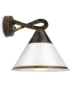 PHILIPS MYGARDEN OUTDOOR - LAMPADA DA PARETE PER ESTERNO FIG  15W