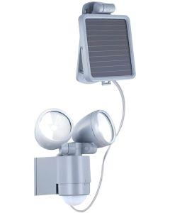 GLOBO - LAMPADA LED A ENERGIA SOLARE PER ESTERNI CON SENSORE DI MOVIMENTO 2LEDX1W