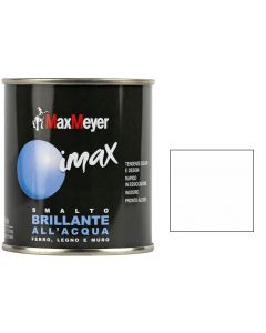 MAX MEYER - IMAX SMALTO ALL' ACQUA BRILLANTE 500ML BIANCO METROPOLITANO
