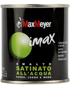 MAX MEYER - IMAX SMALTO ALL' ACQUA SATINATO  500ML BIANCO NEVE