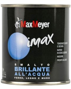 MAX MEYER - IMAX SMALTO ALL' ACQUA BRILLANTE  500ML VERDE LIME