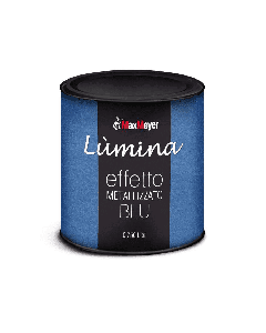 MAXMEYER - LUMINA FINITURA METALLIZZATA PER INTERNI EFFETTO BLU 750 ML