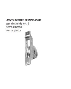 ORECA - AVVOLGITORE SEMINCASSO MT.6 INTERASSE 165