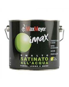 MAX MEYER - IMAX SMALTO ALL' ACQUA SATINATO 2LT NERO