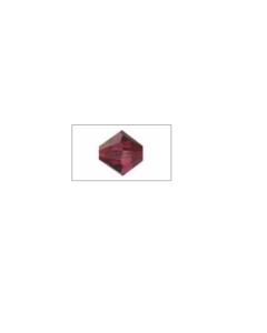 KNORRPRANDELL - SWAROVSKI PERLA DOPPIO CONO RUBY 6MM 12PZ