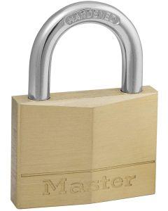 MASTER LOCK MAGNUM - LUCCHETTO IN OTTONE ARCO IN ACCIAIO CEMENTATO 50x20x7 MM