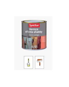 SYNTILOR - VERNICE EFFETTO SHABBY BIANCO 0,250 LT